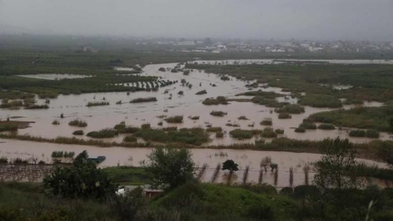 El Consell inicia el proceso para tramitar las subvenciones por los daños producidos por las fuertes lluvias registradas en noviembre y diciembre
