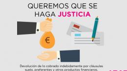 UPYD exige que se haga justicia con los afectados de las cláusulas suelo