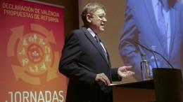 """Puig exige acabar con las """"barreras legales"""" que impiden dedicar más recursos a las políticas locales y pide poner """"punto final"""" a la Ley de Racionalización"""
