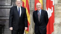 Puig anuncia una misión comercial a Canadá para impulsar la presencia de las empresas valencianas en este país y abrir nuevos mercados