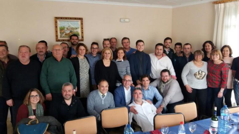 Los diputados provinciales populares respaldan a sus alcaldes y portavoces de la Vall d'Albaida