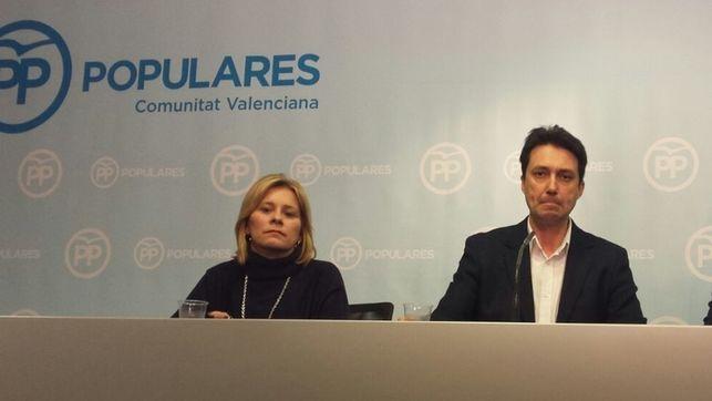 Una gestora para el PP provincial de Valencia es la propuesta a Génova de la dirección del PPCV ante la fractura interna