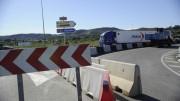 Obras Públicas realiza trabajos de urgencia en la CV-13 para reparar las juntas de dilatación de puentes que se encontraban en una situación grave de deterioro