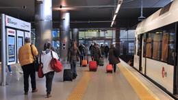 La conexión de Metrovalencia Puerto-Aeropuerto cumple diez años en servicio y supera los 186 millones de viajeros