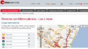 La web de Metrovalencia recibió el año pasado más de 2,2 millones de visitas de los internautas