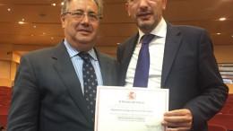El Ministerio del Interior premia al Departamento de Seguridad de Ribera Salud