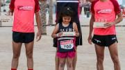 La Volta a la Platja se hace grande con más de 500 corredores disfrutando en la playa de Las Arenas