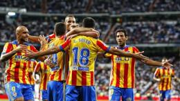 El Valencia CF empata ante el Real Madrid en un partido muy competido (2-2)