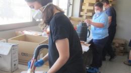 200 profesionales trabajan en las tareas de limpieza y acondicionamiento de la Ciudad de la Justicia durante el fin de semana