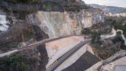 La Diputació y la UPV elaboran el primer modelo tridimensional para controlar las deformaciones de la ladera de Cortes de Pallás