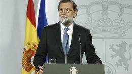 Rajoy anuncia el cese de Puigdemont y su Gobierno y la convocatoria de elecciones autonómicas en Cataluña el 21 de diciembre
