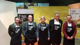 cocineros valencianos refuerzan el proyecto turístico 'Del Tros al Plat'