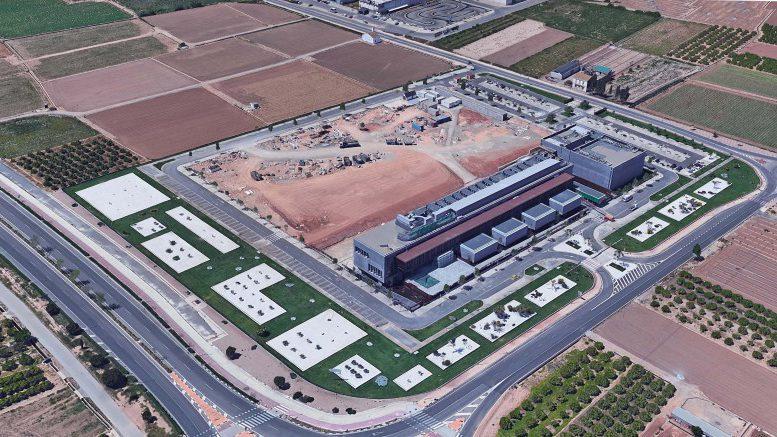 Actual de la parcela donde irán las nuevas oficinas de Mercadona en Albalat dels Sorells Valencia