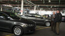 Nuevos coches híbridos parque móvil Diputación