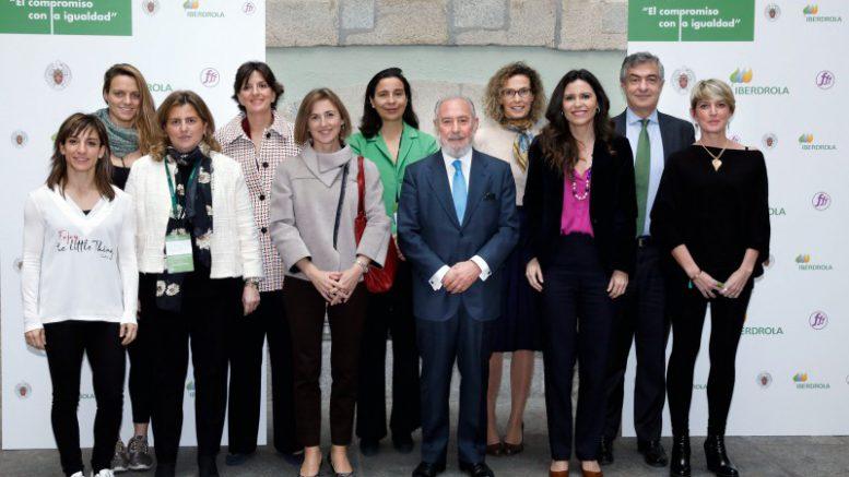 Participantes en la jornada Compromiso con la Igualdad de la mujer - Iberdrola y la UCM