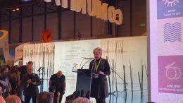Pilar Moncho durante su intervención en la presentación del Mètode Valenciá en Fitur