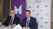 Firma del Convenio de colaboración entre CaixaBank Colegio Farmacéuticos Valencia ( MICOF )