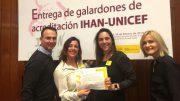 Galardón IHAN fase 1D Hospital de la Ribera de Alzira., recogido por la Dra. Gastaldo