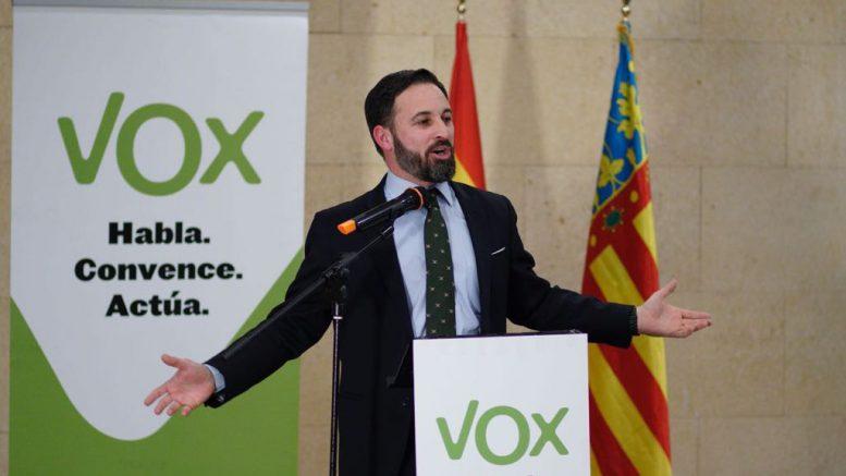 Santiago Abascal Presidente de Vox entrevistado por ValenciaNews