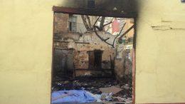 Ciudadanos denuncia el estado ruinoso del edificio de la calle Escalante que se incendió a principios de febrero