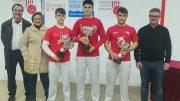 Mario, Edu y Guillem campeones de la XIII Liga Juvenil escala i corda