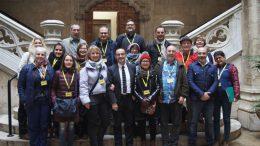 La Diputación se reúne con los socios europeos de un proyecto de formación en empresas de 7 países