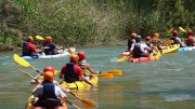 El kayak no es solo para el verano