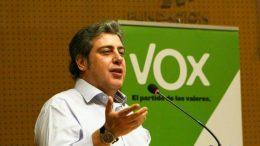José María Llanos, presidente de Vox Valencia