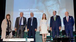 Ignacio Galán anuncia la Cátedra Iberdrola Manuel Marín de política energética europea en el Colegio de Europa