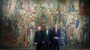 Iberdrola y la Real Fábrica de Tapices concluyen la restauración de los tapices del Colegio del Patriarca