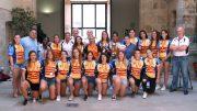 Las campeonas de España de Rugby S18 comparten sus éxitos con la Diputación