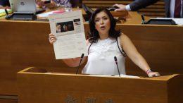 """Mari Carmen Sánchez: """"El Consell ha fracasado: imposiciones, incumplimientos y corrupción. Se ha convertido en el 'chasco del Botànic'"""