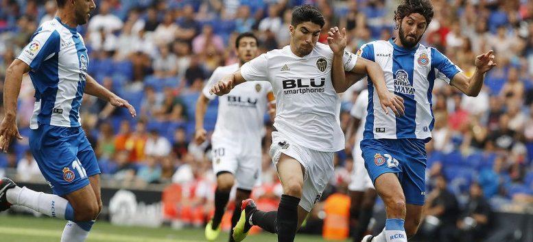 El Valencia CF pierde en el RCDE Stadium ante el Espanyol (2-0)