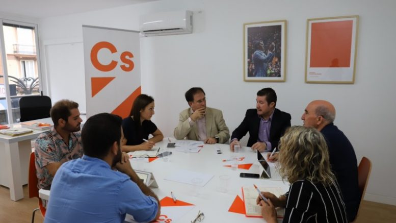 """Argüeso: """"El objetivo es presentar candidatura de Cs en todos los municipios. Estamos preparados para ser la alternativa"""""""