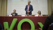 """Javier Ortega """"Nunca más vamos a permitir que se ponga en riesgo esta gran nación""""."""