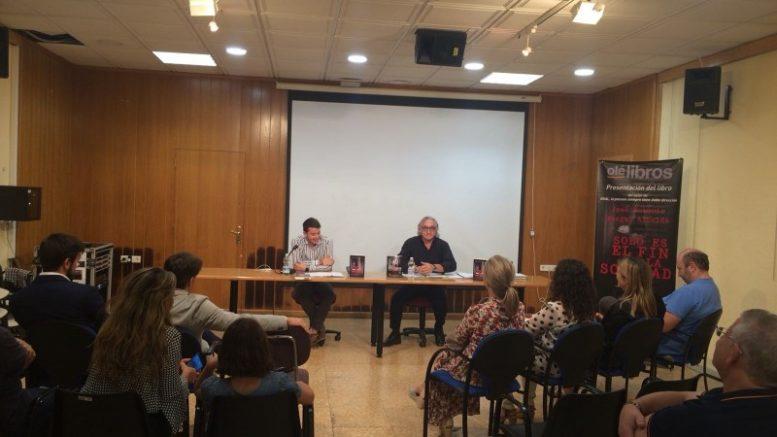 José Antonio Murgui presenta sus novelas en San Antonio de Benagéber