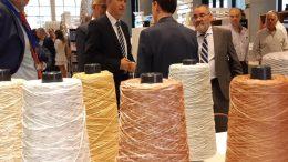 Rafa Climent ha inaugurado la Feria Home Textiles Premium, donde 22 compradores de 16 países invitados por Ivace conocerán la oferta valenciana