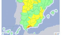 alerta LLuvias desde AEMET para sábado 8 de septiembre