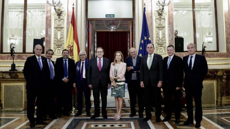 """El presidente de Iberdrola, que ha participado en el Congreso con la ponencia """"Desarrollo económico y modelo energético"""""""
