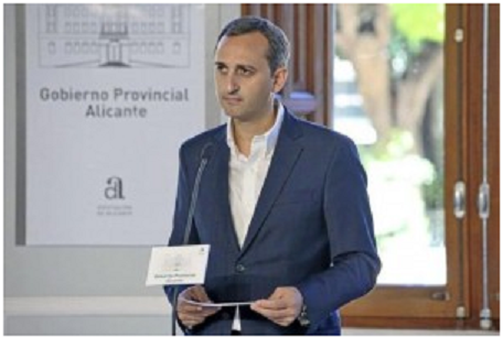 Cesar Sánchez. Presidente de la Diputación de Alicante