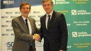Agustín Carrilero Director de ESIC CV y Rosendo Ortí Dtor General de Caixa Popular