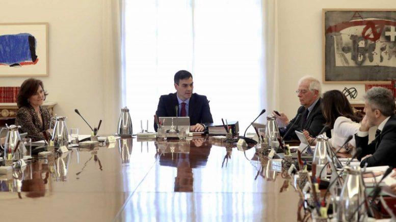 El Gobierno aprueba el plan presupuestario de 2019 en un Consejo de Ministros extraordinario