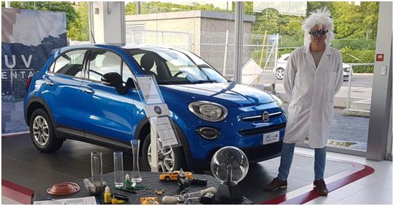 """Los Clientes de Motor Village Valencia conocieron el nuevo Fiat 500X de la mano de """"Doc"""""""
