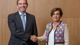 Consejera Delegada de Iberdrola España y Consejero Delegado de Euskaltel