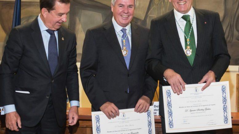 Ignacio Galán, nombrado Miembro de Honor del Instituto de la Ingeniería de España