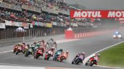 Andrea Dovizioso gana el Gran Premio de la lluvia en el Circuit Ricardo Tormo