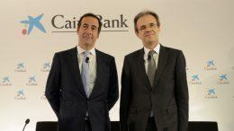 Jordi Gual, presidente de CaixaBank y Gonzalo Gortázar, consejero delegado - El Plan Estratégico 2019-2021 de CaixaBank