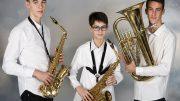 Tres nuevos músicos pasan a formar parte este año de la banda de la Sociedad Musical Lira Almussafense.