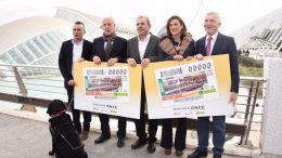 Los cupones de la ONCE 'corren' el Maratón Valencia Trinidad Alfonso EDP