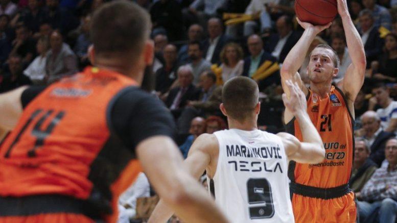 Valencia Basket busca sellar su pase al Top16 en su primera visita al Partizan NIS Belgrade